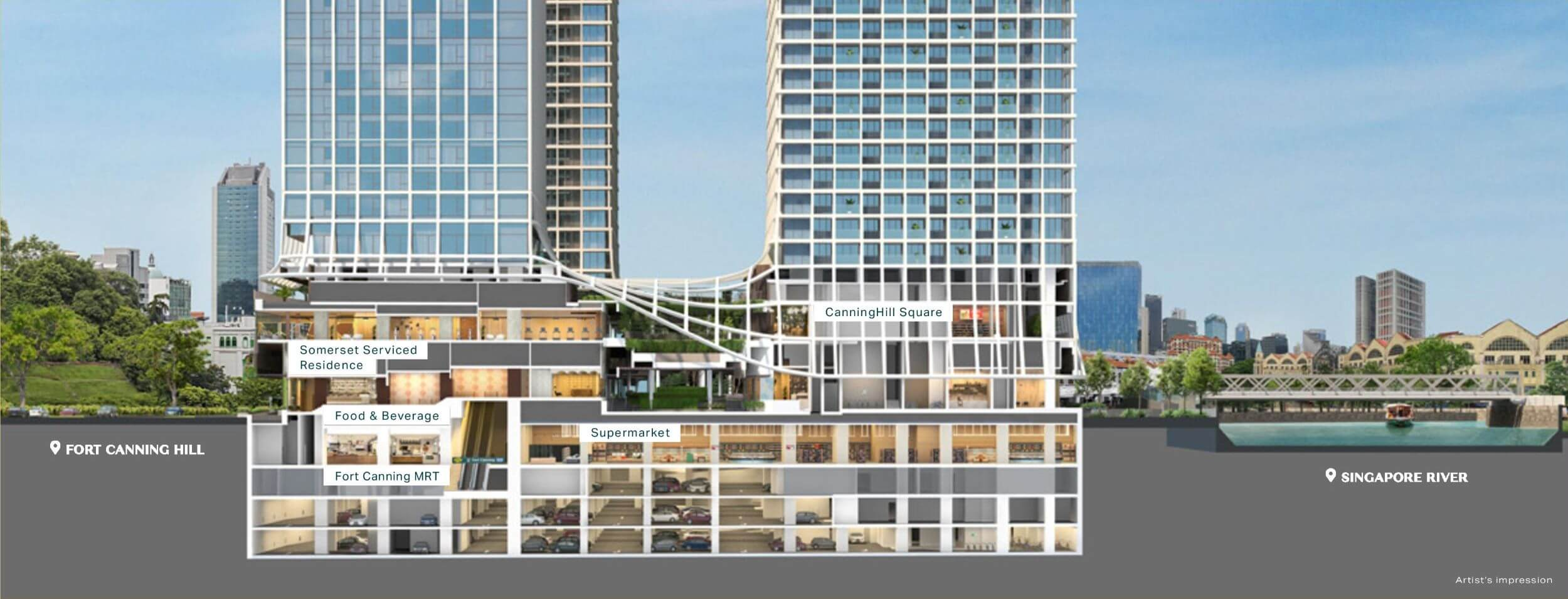 Canninghill Piers Integrated Living 2 1 1